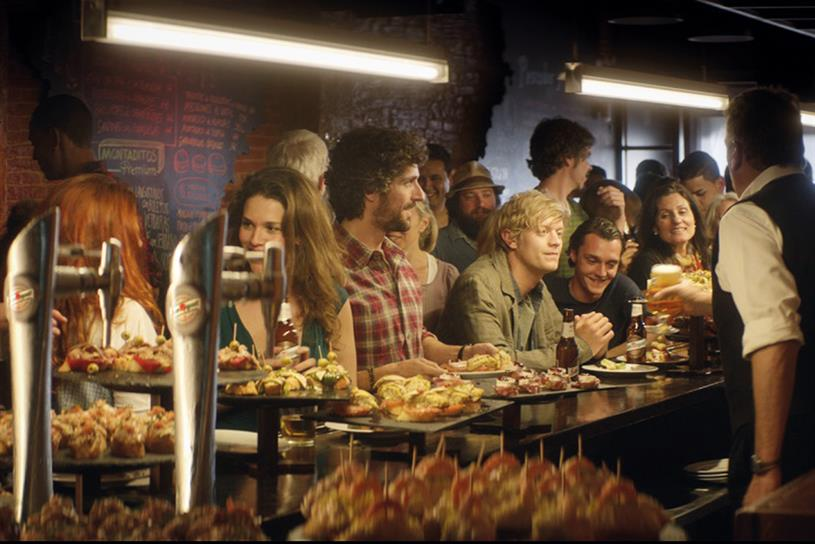 San Miguel: *S,P,C,F created an ad for the beer brand last year