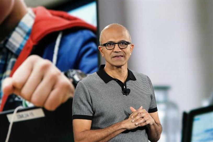 Nadella: Microsoft CEO has overseen tripling of company's value