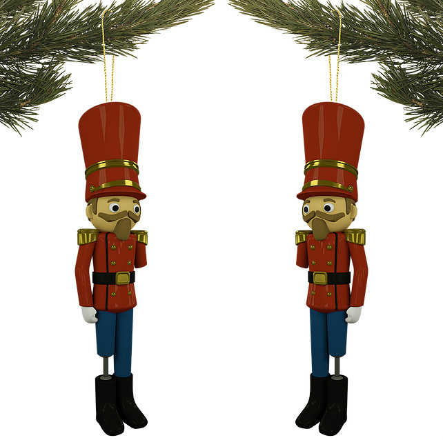supports wounded soldiers has teamed up with a pair of advertising creatives to develop a new version of a traditional christmas decoration that serves