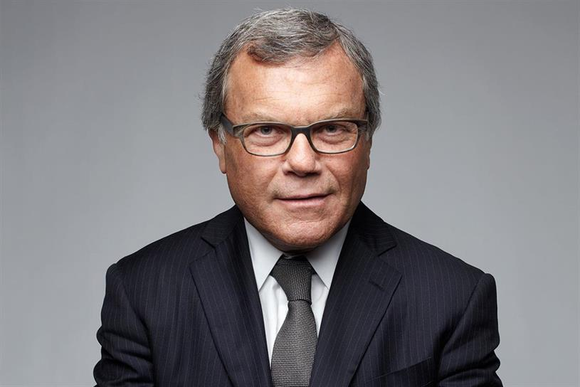WPP: chief executive Martin Sorrell