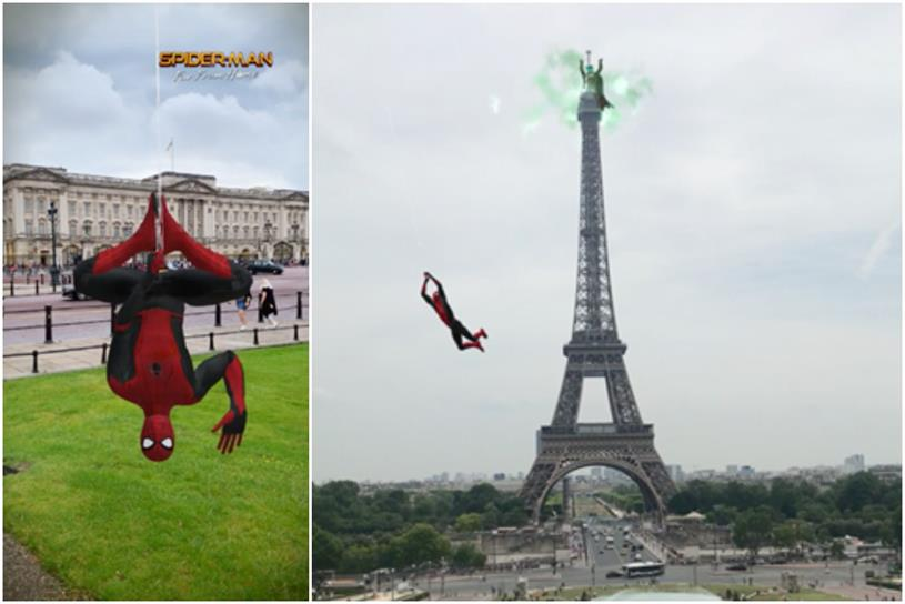 Spider-Man: Far from Home: launched Snapchat lens in June 2019
