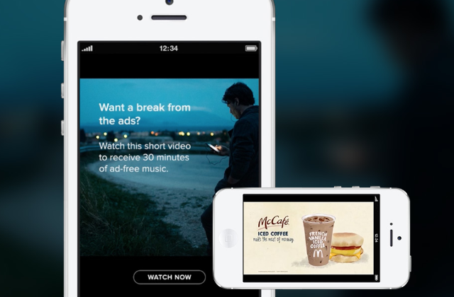 Spotify: offering video ads for the first time