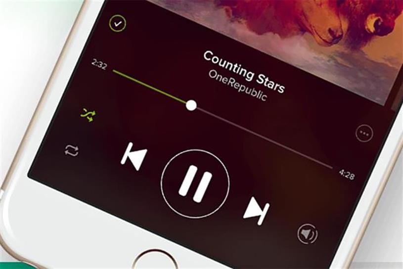 Spotify and competitors increased their revenues by £75m last year