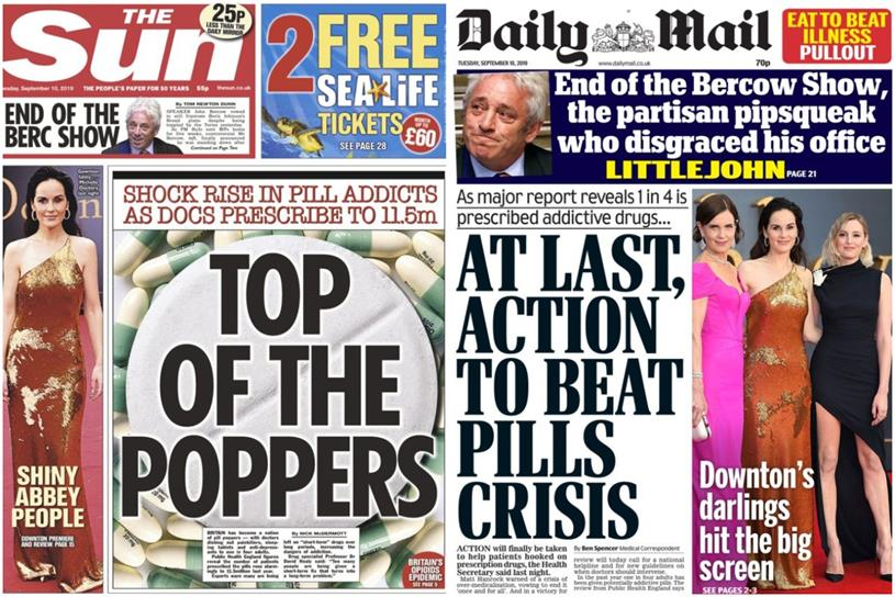 Most popular newspapers: The Sun and the Daily Mail