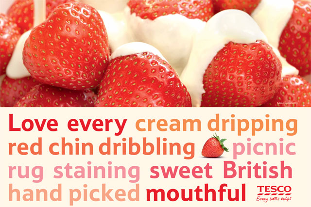 Tesco tells UK to 'Love Every Mouthful'