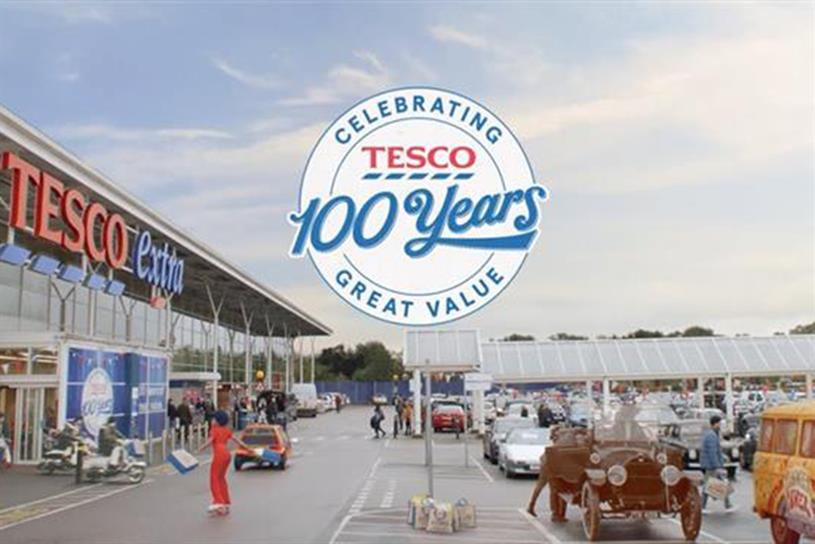 Tesco: celebrates centenary this year