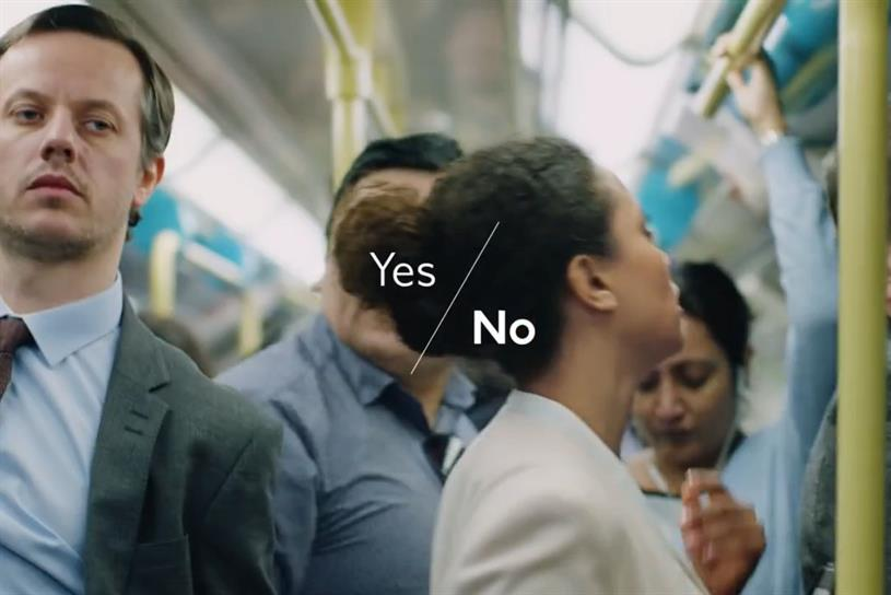 TfL: launched a campaign this year to raise awareness of sexual harassment on the Tube