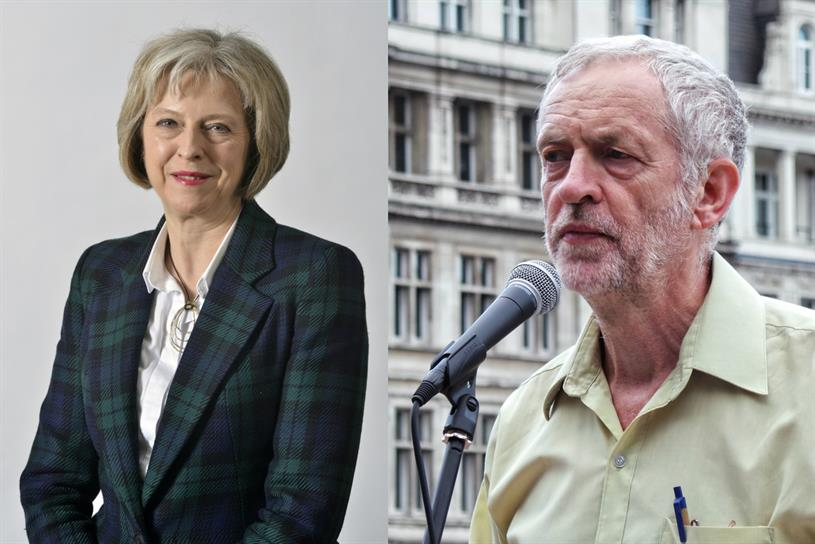 May and Corbyn: who will be Britain's next prime minister?