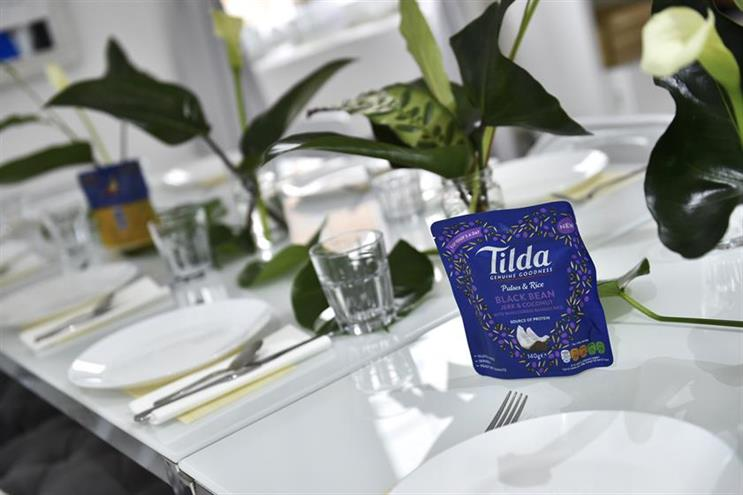 Tilda, the rice brand, is among four brands Havas will now work