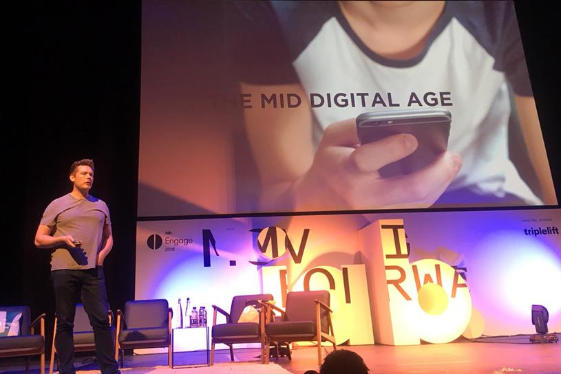 Goodwin: speaking at IAB Engage