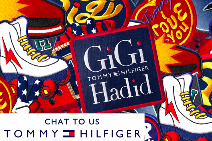Tommy Hilfiger: it is working with Media Sense