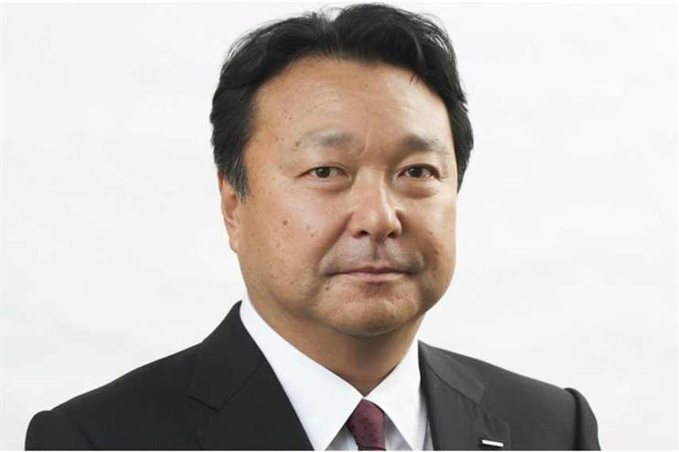 Dentsu president and chief executive Toshihiro Yamamoto
