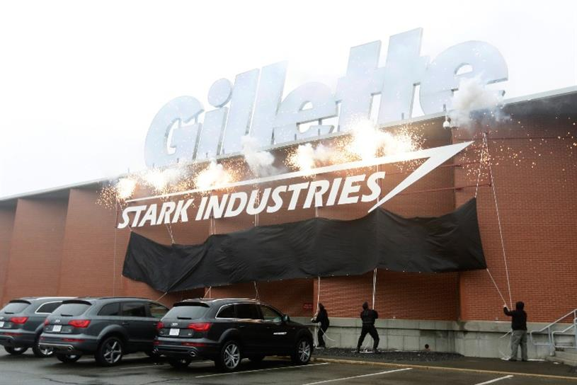 Gillette: partnered with 'Stark Industries' in R&D collaboration