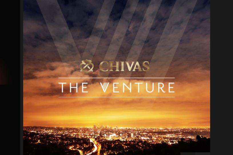Chivas: investing $1m in start-ups