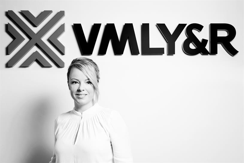 Boswell: starts at VMLY&R next month