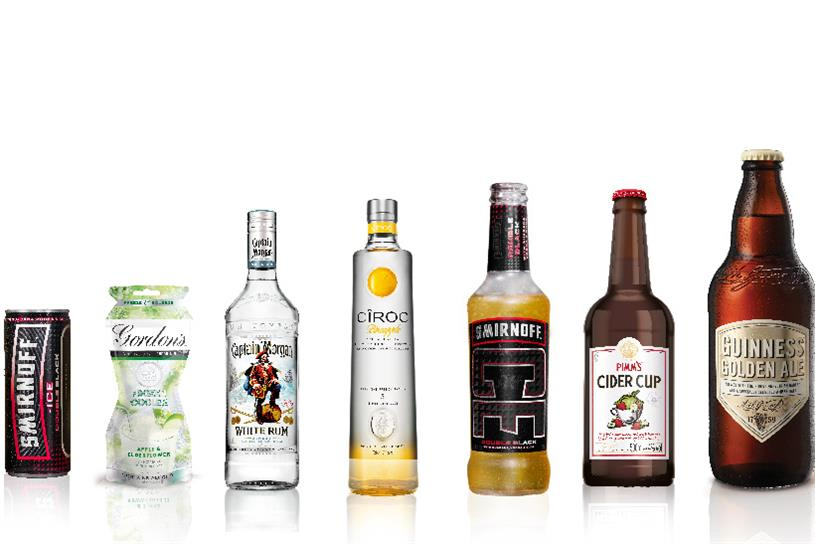 Diageo: unveils new summer innovations