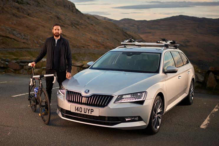 Skoda: Sir Bradley Wiggins is the car brand's spokesman