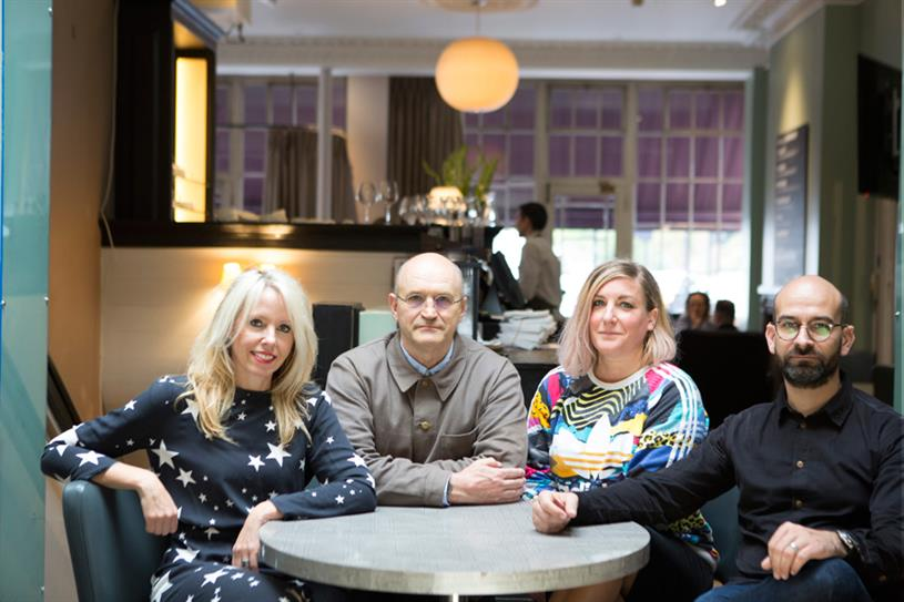 Wunderman (L-R): Pip Hulbert, Ian Haworth, Abi Ellis and Richard Dunn