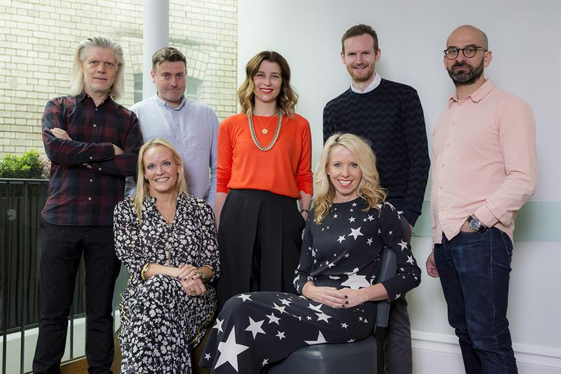 Wunderman Thompson: (clockwise from top left) Aldridge, Steward, Muir, Curran, Dunn, Hulbert and Forster