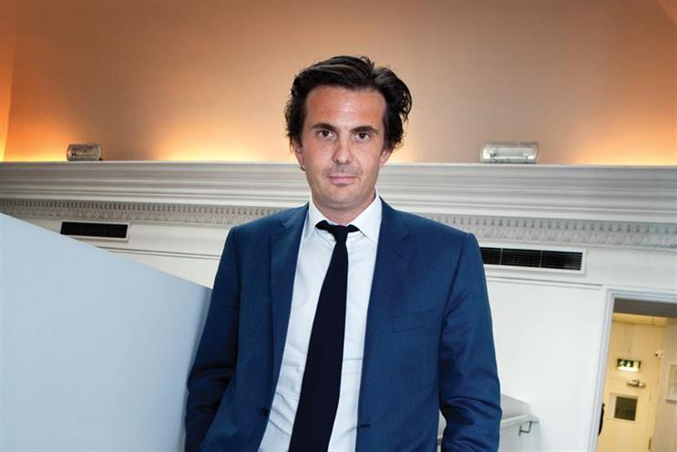 Yannick Bolloré: chief executive of Havas