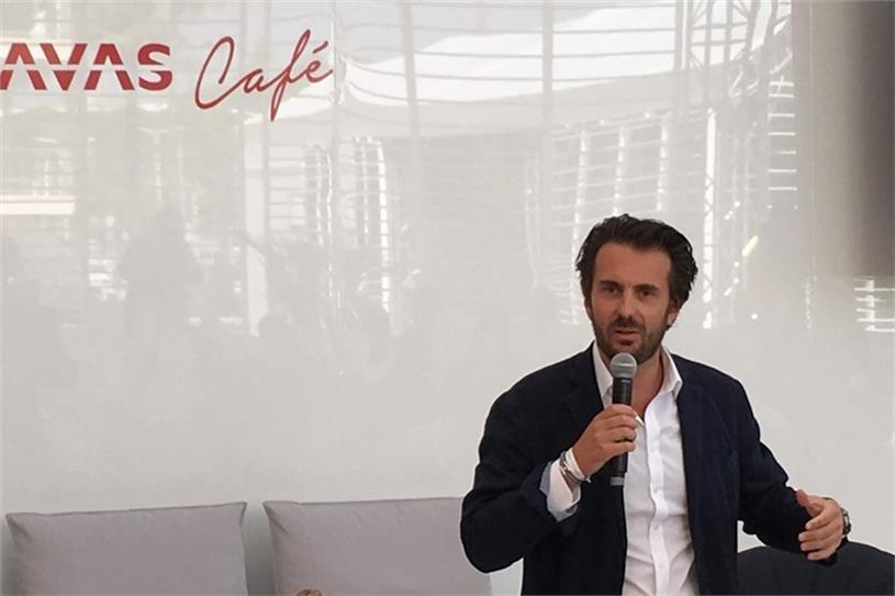 Bolloré at Cannes Lions