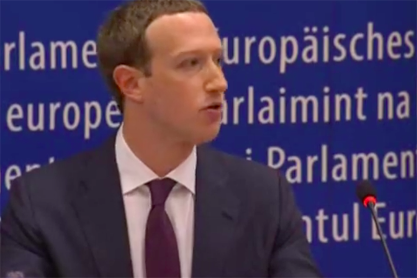 Mark Zuckerberg Skirted Facebook Monopoly Questions (Again), Infuriated EU Lawmakers