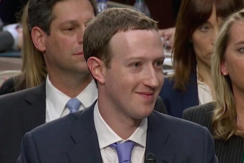 Facebook founder Mark Zuckerberg testified before the US senate this week