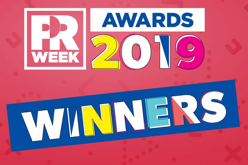 7f0df660254ceb PRWeek U.S. Awards 2019  The Winners