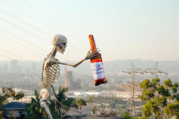 Other Brands Want To Be Held By The Home Depot Giant Skeleton Pr Week