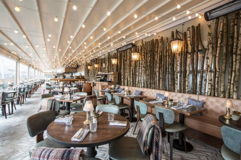 In Pictures Inside Selfridges Forest Themed Rooftop