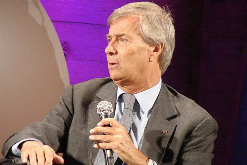 Vivendi Chairman Vincent Bolloré