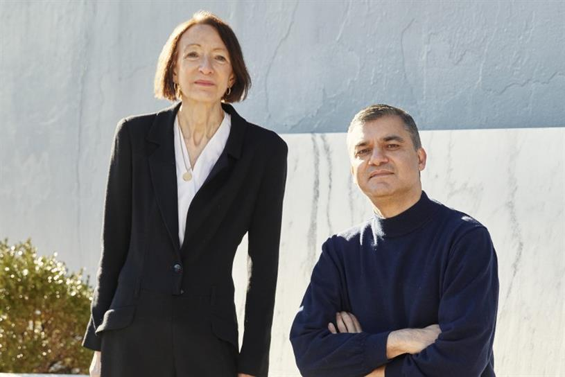 Joanna Seddon and Nik Gharekhan