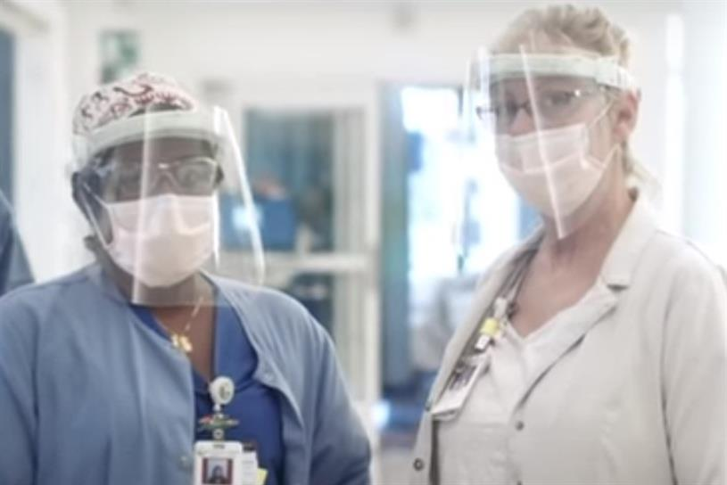 Adidas 'Thank You, Healthcare Heroes'
