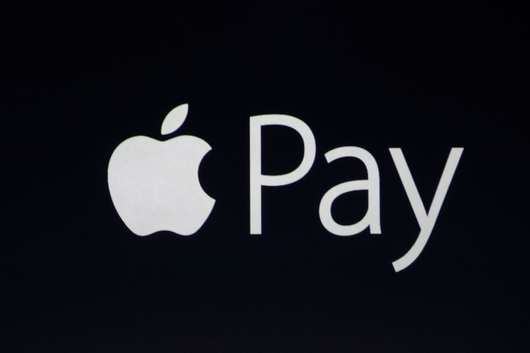 Apple Pay logo.