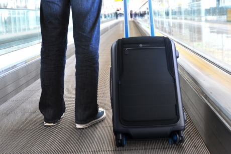 Bluesmart's high-tech suitcase