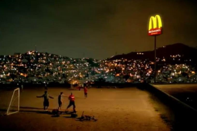 "McDonald's Spanish-language ""Cancha"" spot put soccer in the spotlight."