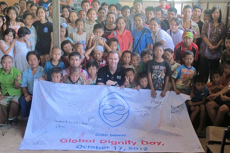 Global Dignity Day, Thailand, 2012.