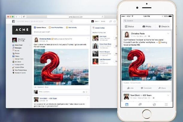Facebook unveils its LinkedIn rival, Facebook at Work.