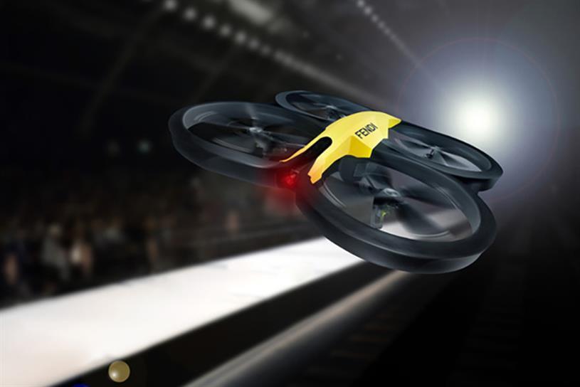 Fendi drone.