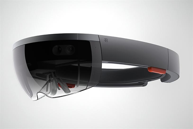 Microsoft HoloLens.