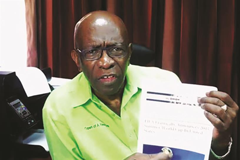 Former FIFA VP Jack Warner famously thought an article from The Onion was real.