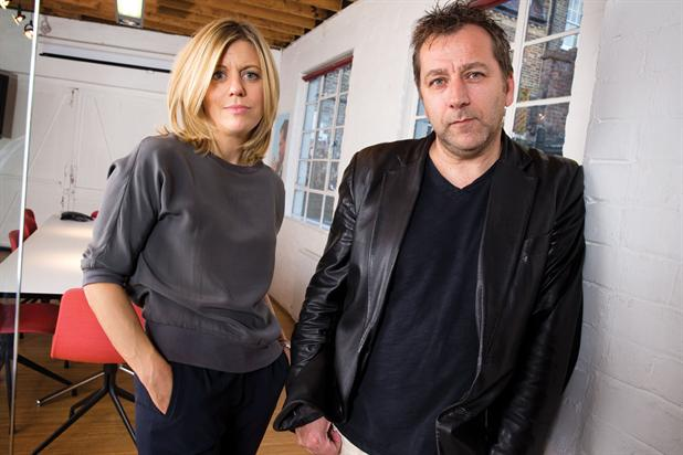 Anomaly: Johnson (right) aims to improve the London offshoot starting with the appointment of Harrisson as chief executive.