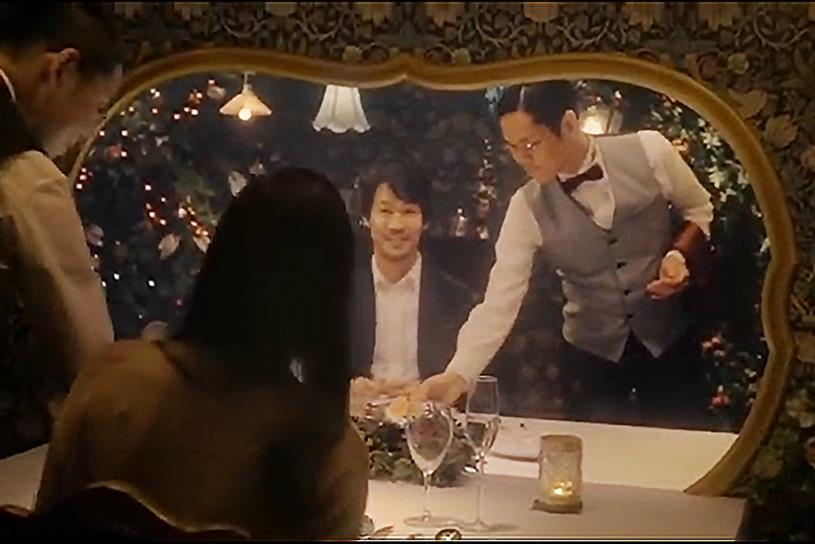 "KDDI ""Sync Dinner"" by Hakuhodo."