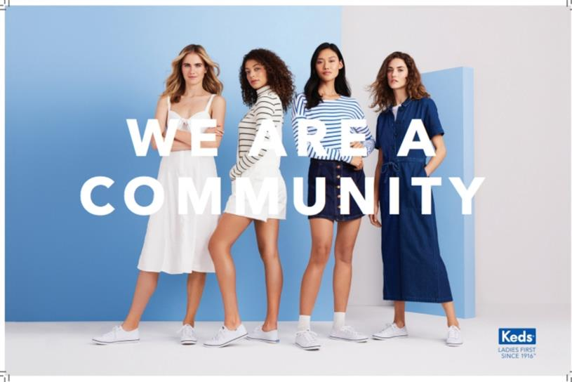 Keds reclaims the definition of 'lady