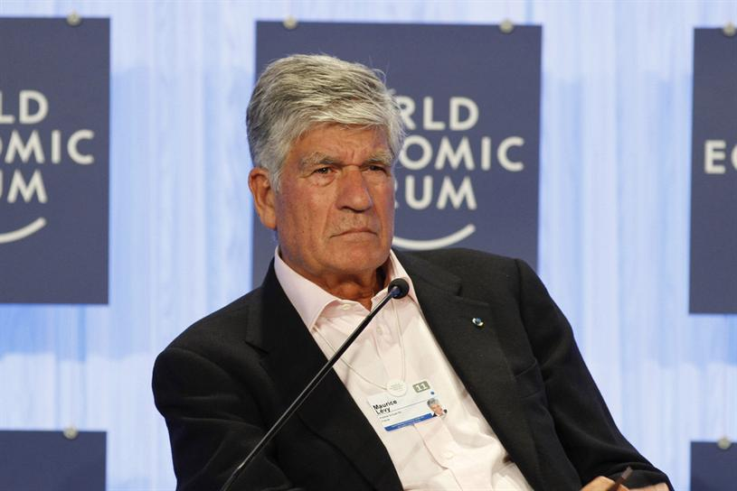 Publicis Groupe Chairman and CEO Maurice Lévy.