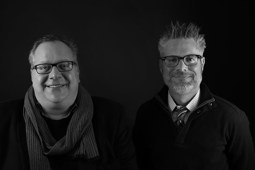 Lowe Profero Americas CEO Aaron Reitkopf (left) and Managing Director, San Francisco, Matthew Day.