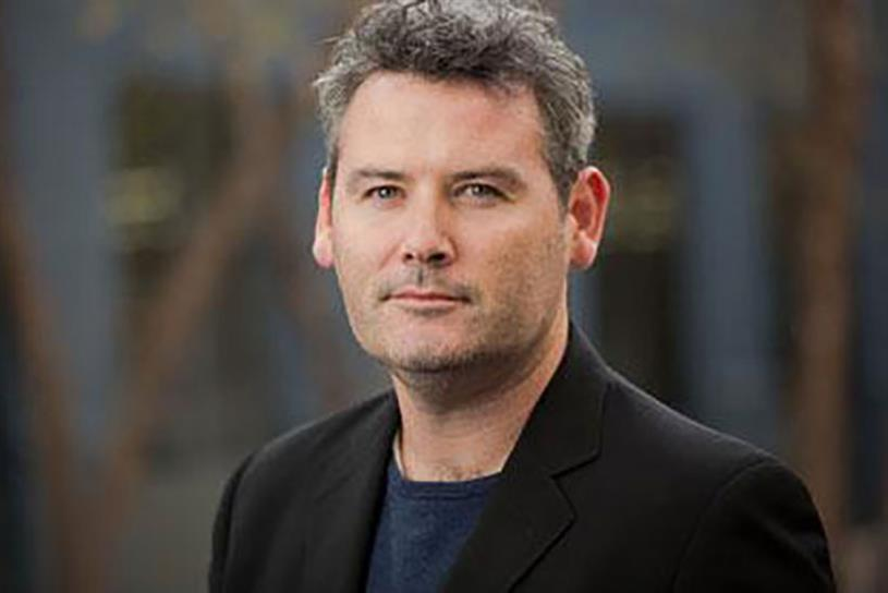 Mark D'Arcy, VP and chief creative officer, Facebook Creative Shop.
