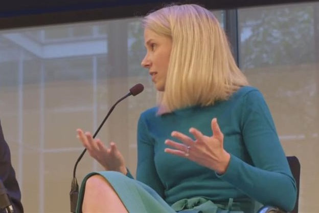 Yahoo CEO Marissa Mayer was the biggest draw among the stars of Advertising Week.