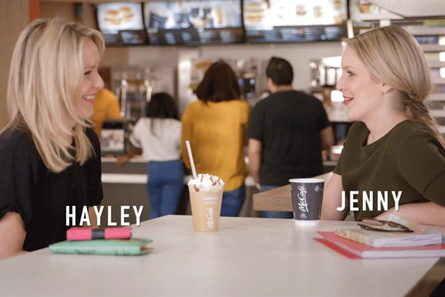 McDonald's new UK campaign offers live TV commentary.