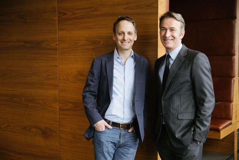 Kepler CEO Rick Greenberg (L) and kyu CEO Michael Birkin (R)